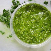 NOGO (No Onion-No Garlic) Pesto!
