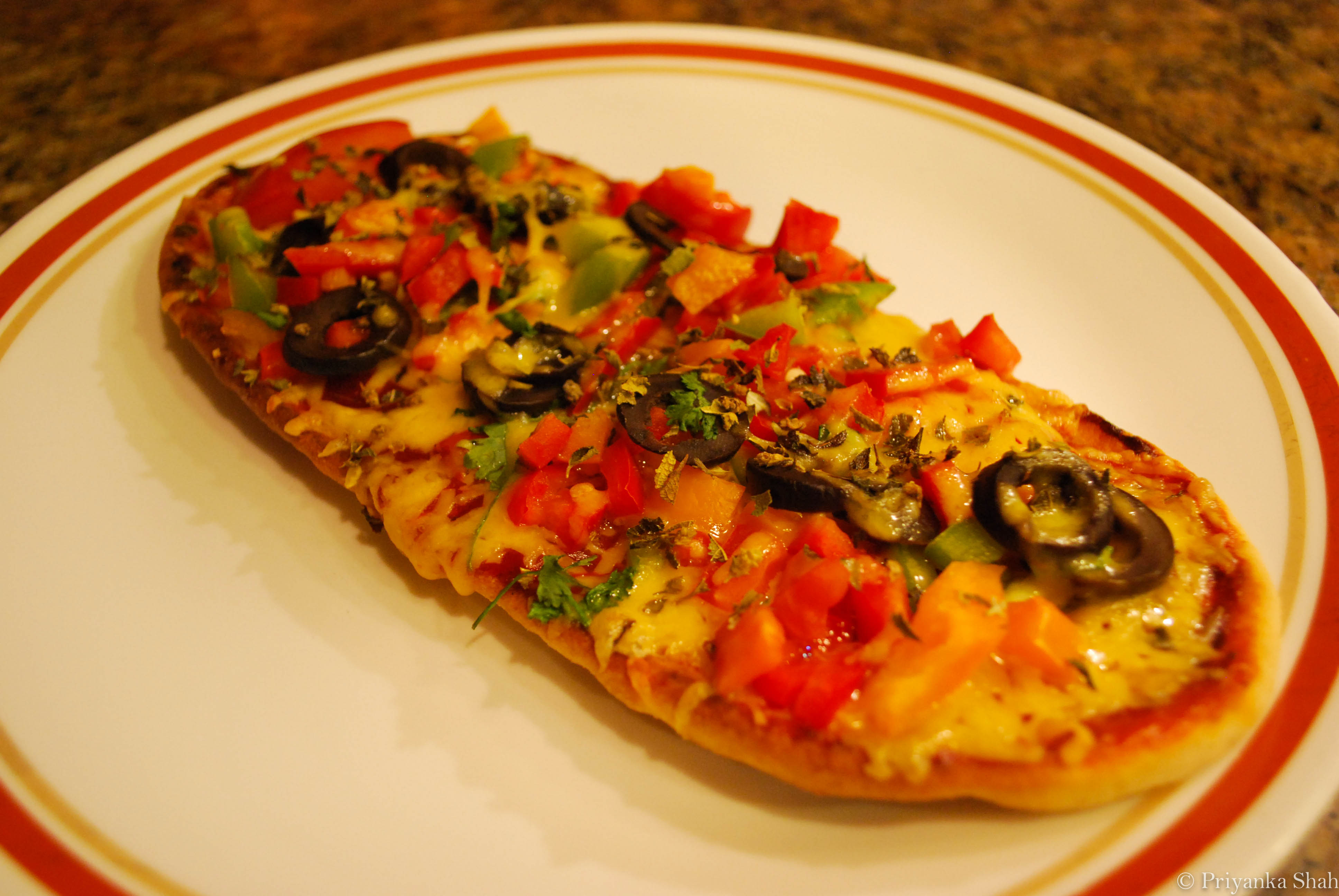 Jain flat bread naan pizza pinkis palate image forumfinder Image collections
