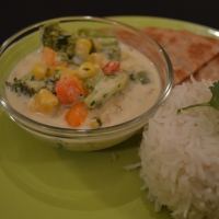 3-step Vegan Thai Coconut Curry