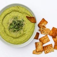 5-Minute Pani Puri Hummus