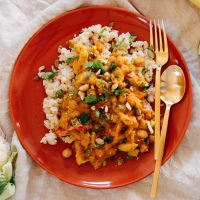 Coconut Chickpea Pumpkin Curry